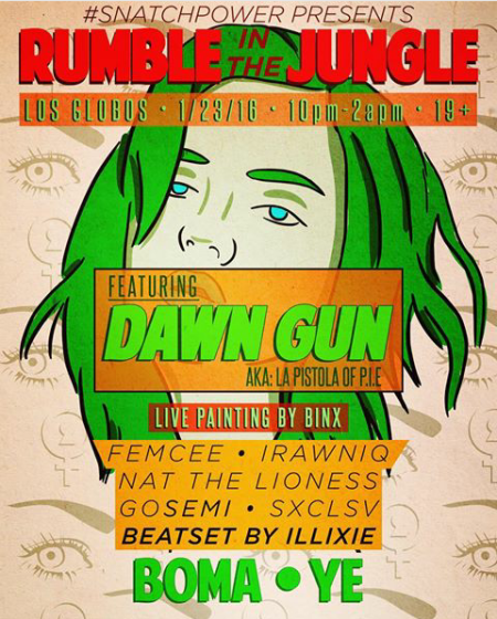 DawnGun showjan2016