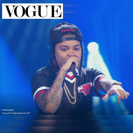 Young M.A Vogue Magazine